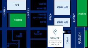 名古屋栄店地図