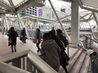 JR線天王寺駅からの道順3