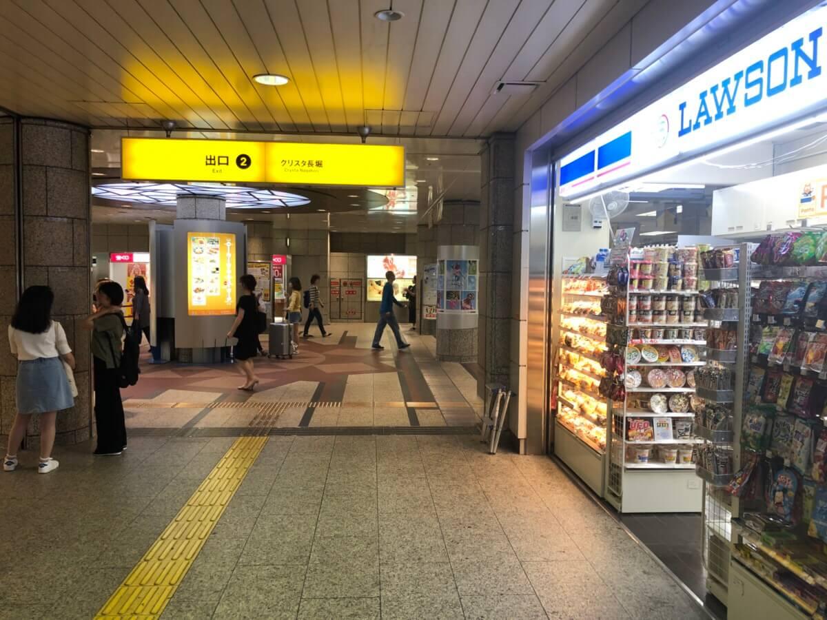 心斎橋店道順1