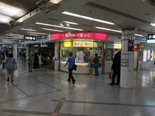 梅田店道順3御堂筋線