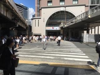 梅田店道順1JR大阪駅
