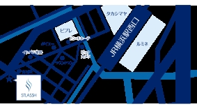 横浜西口店地図