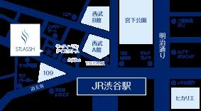 渋谷中央店地図
