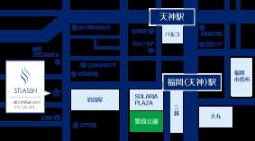 福岡天神店地図