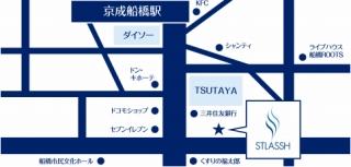 船橋南口店地図